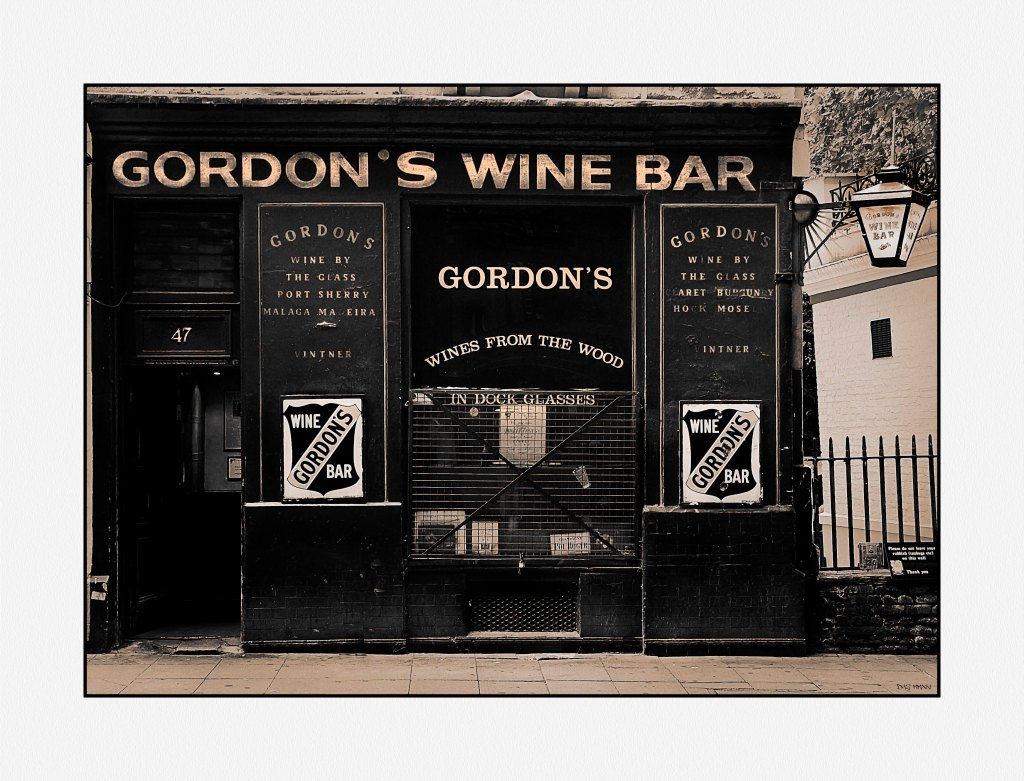 Gordon's wine bar low