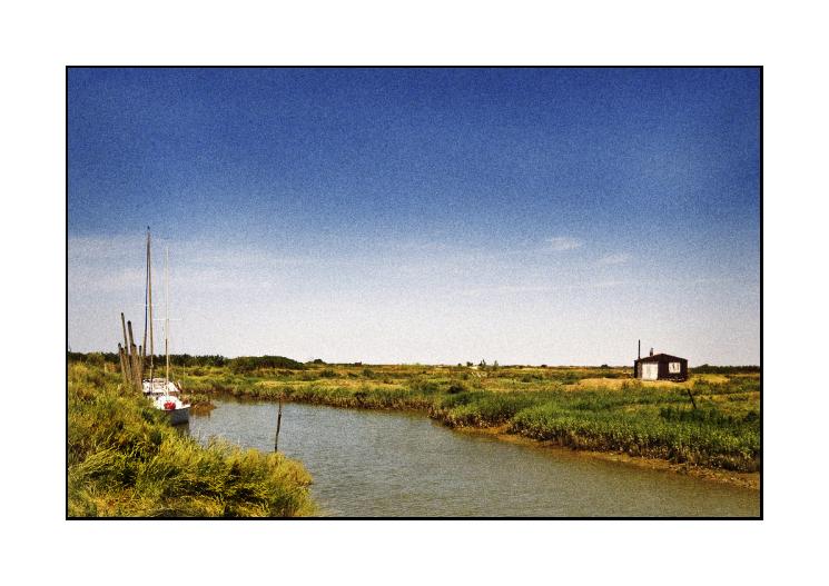 marsh huts