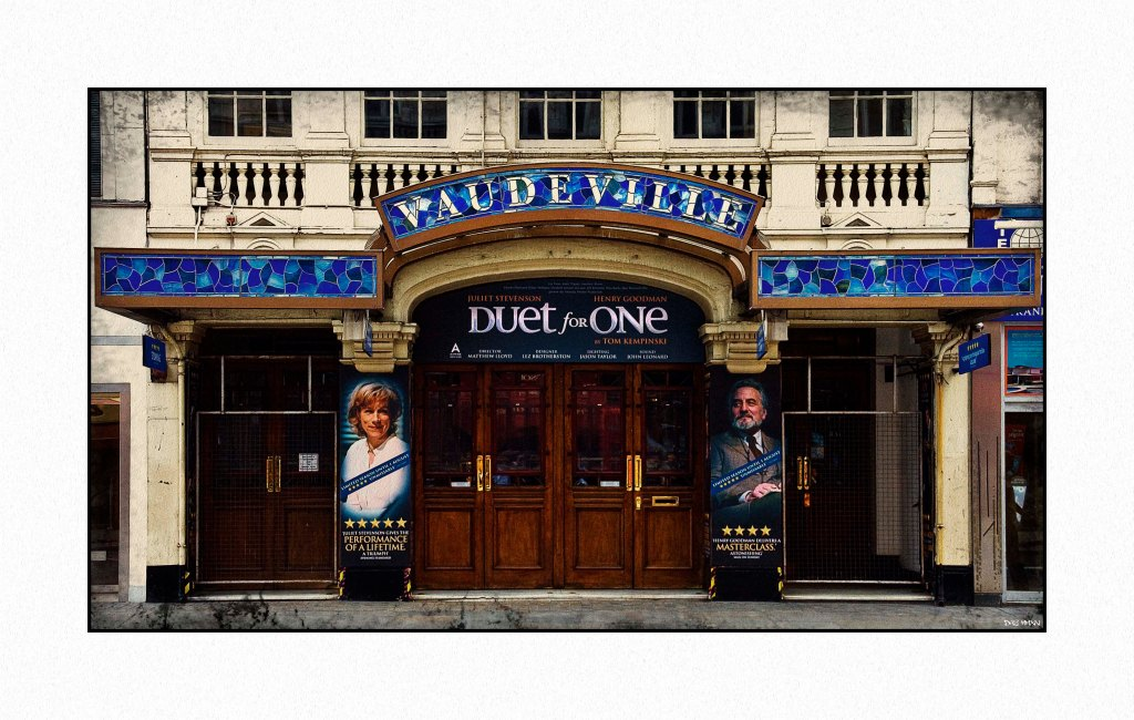 Vaudeville theatre low