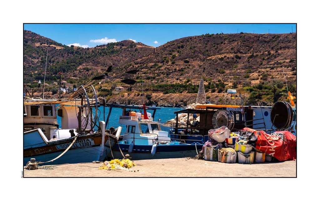 Fishing Boats, Pomos Cyprus 2016 Optomized